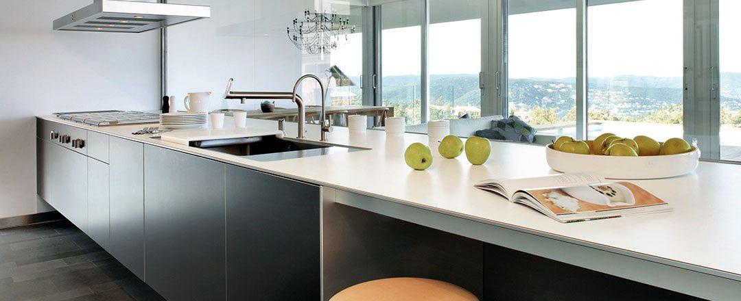 Silestone Arbeitsplatte | Miele Center Rehrl Salzburg