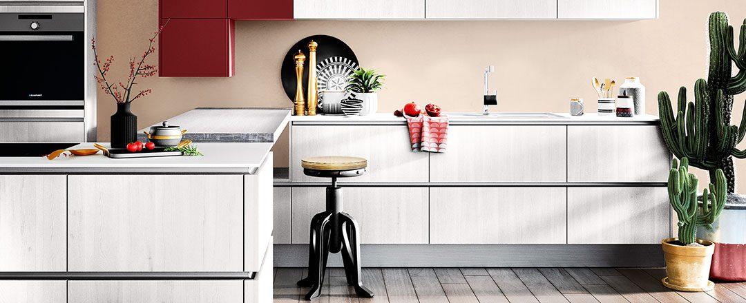 Häcker Küche nordischer Stil | Miele Center Rehrl Salzburg