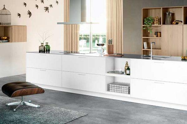 Häcker Küche Polarweiß | Miele Center Rehrl Salzburg