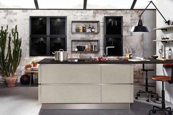 Häcker Küche Echtbeton | Miele Center Rehrl Salzburg