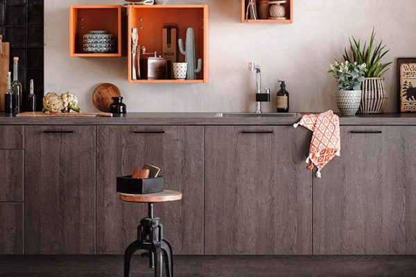 Häcker Küche Toronto | Eiche gemasert | Miele Center Rehrl Salzburg