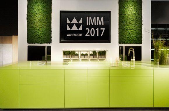 Exklusive Warendorf Küchen auf der IMM 2017