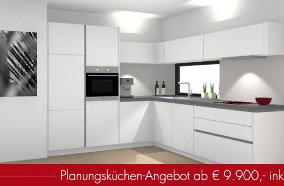 Küchen-Aktion im Miele Center Rehrl in Salzburg