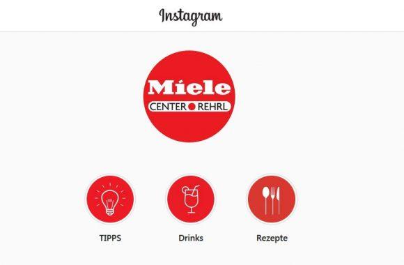 Folgen Sie dem Miele Center Rehrl auf Instagram