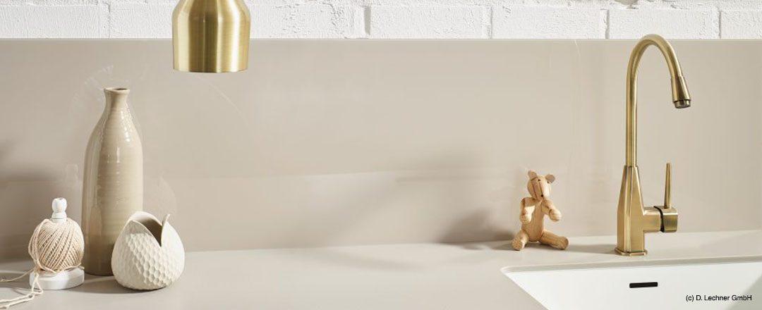 D. Lechner Küchenrückwand Gold | Miele Center Rehrl Salzburg