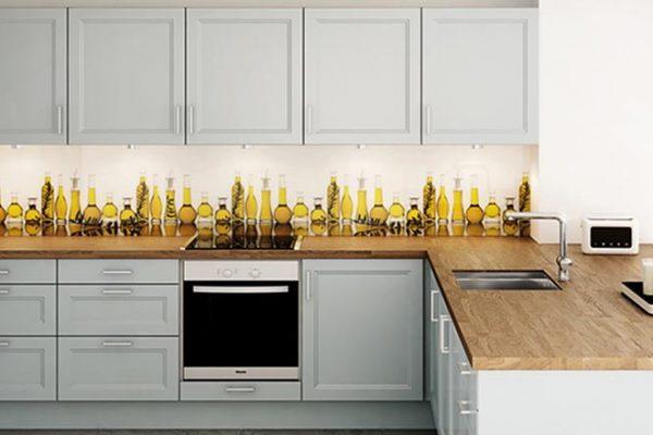 D. Lechner Küchenrückwand Olive Branch | Miele Center Rehrl Salzburg