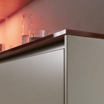 Warendorf Küche Cosmopolitan Glas Lack | Miele Center Rehrl Salzburg
