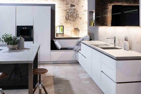 Warendorf Küche W1 Carbon | Miele Center Rehrl Salzburg